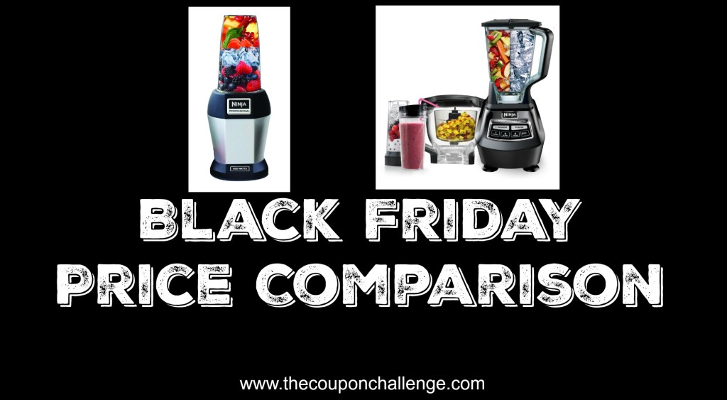 Ninja Blender Black Friday Price Comparison