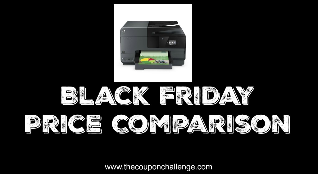 Printer Black Friday Price Comparison