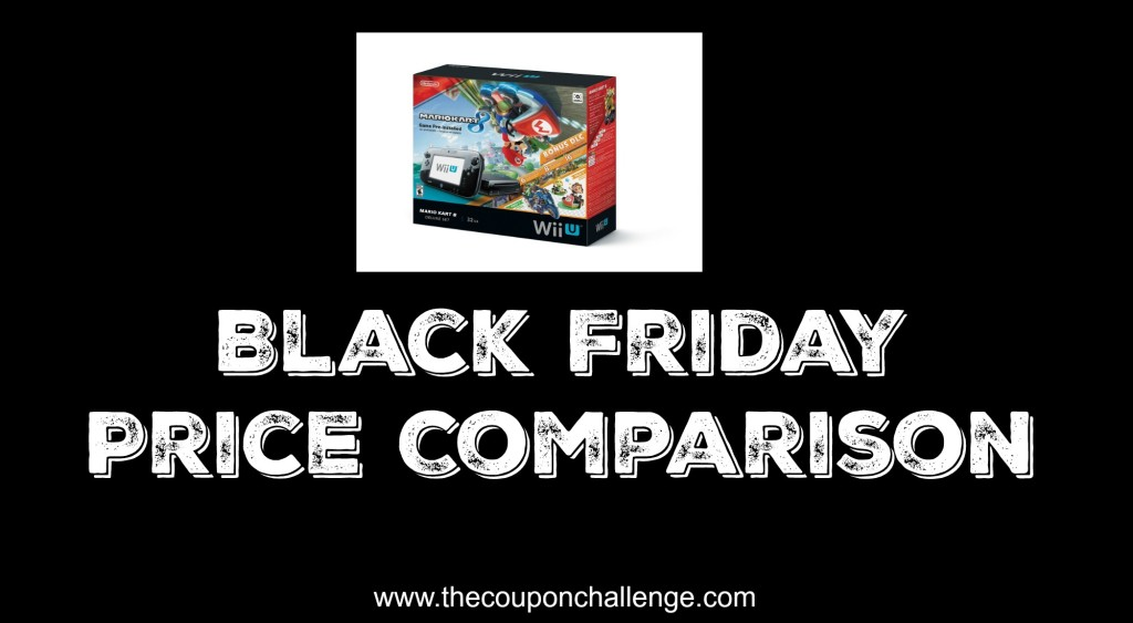 Wii U Black Friday Price Comparison