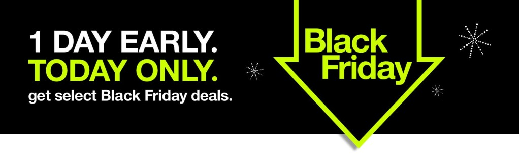 Target early access Black Friday
