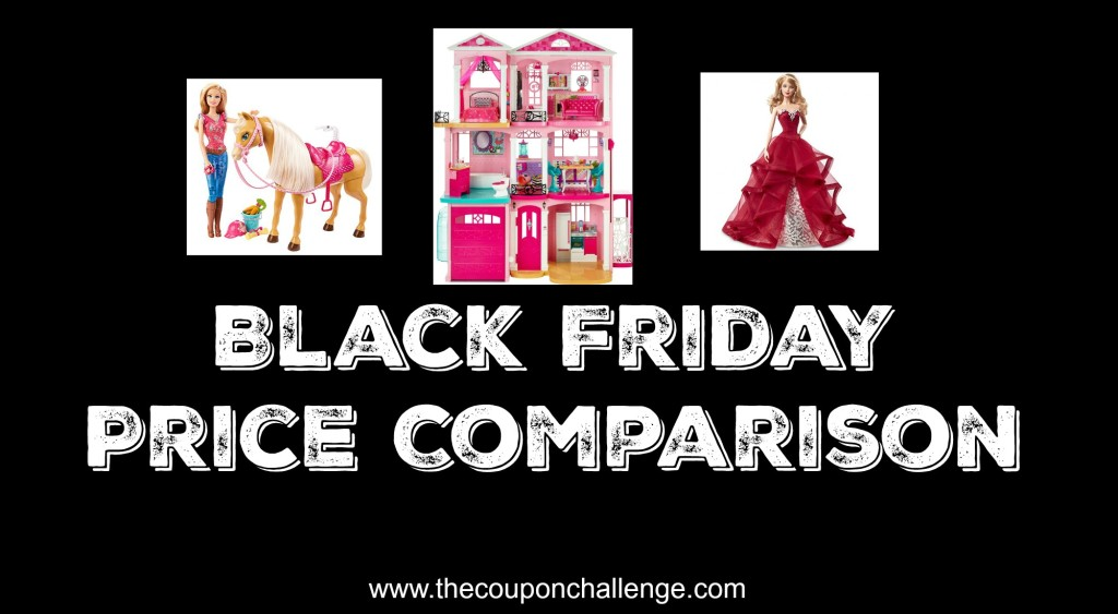 barbie black friday price comparison