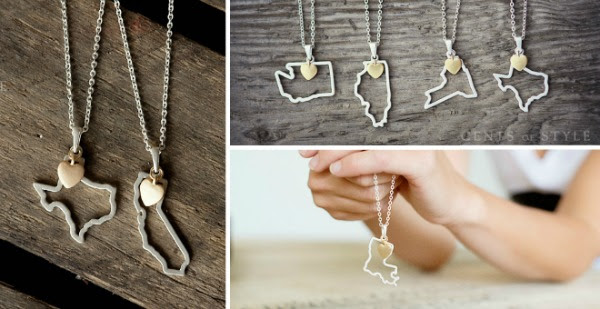 State Necklace sale