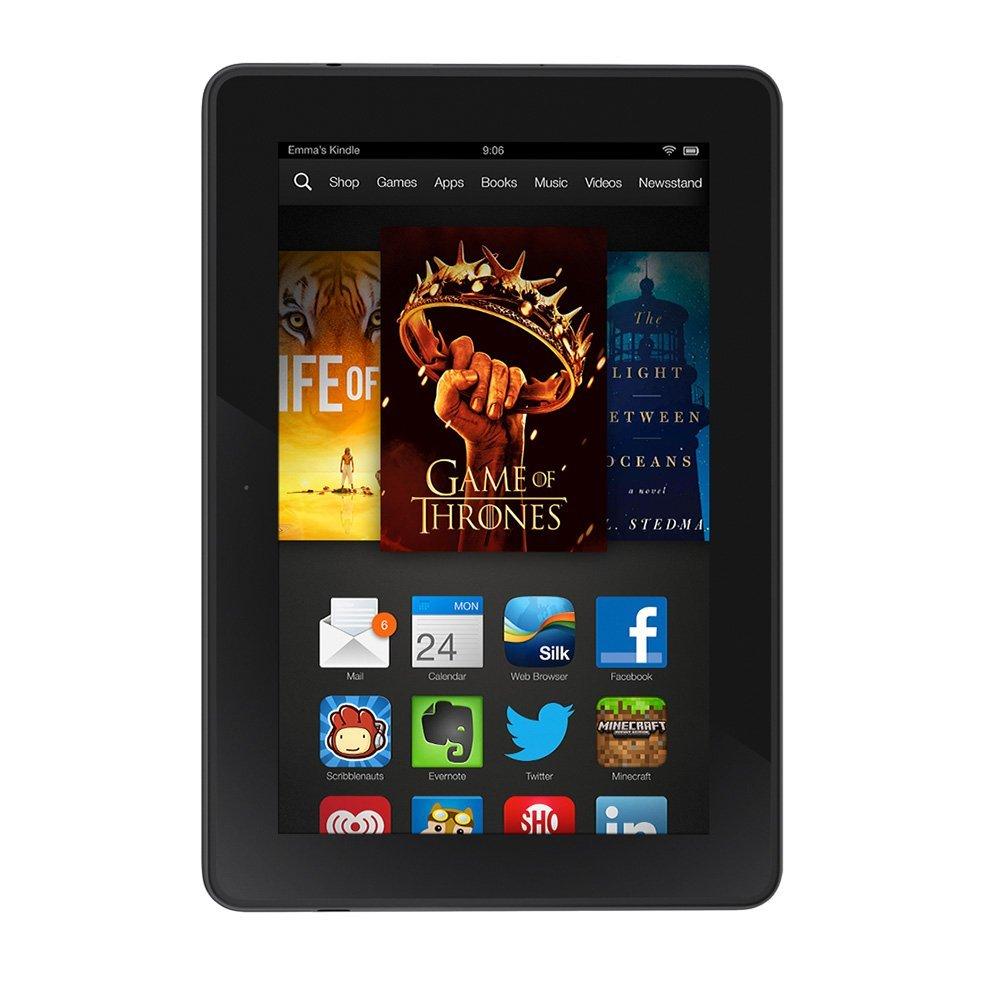 """Kindle Fire HDX 7"""", HDX Display, Wi-Fi, 16 GB"""