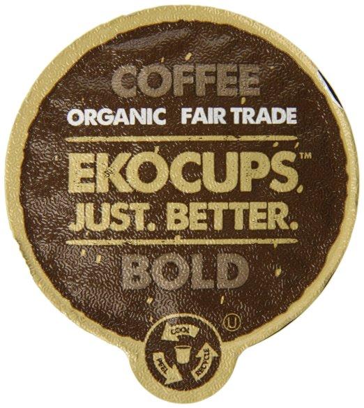 EKOCUPS Organic Artisan Coffee Bold
