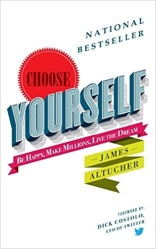 Choose Yourself! book sale
