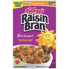 Kelloggs Raisin Bran Cereal
