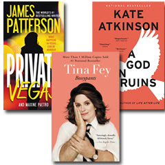 Best Sellers by Tina Fey, James Patterson, and More
