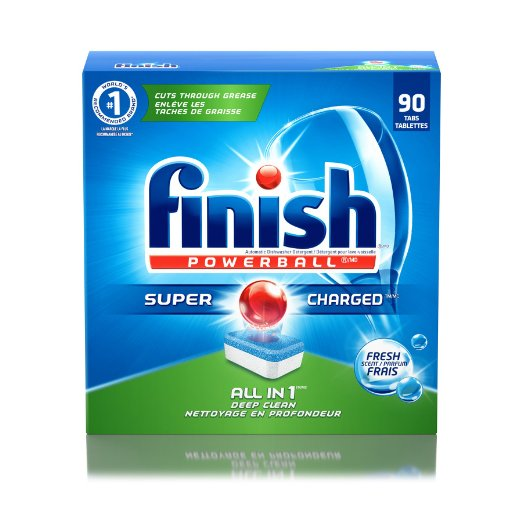 Finish 90-count Powerball Dishwasher Detergent Tablets
