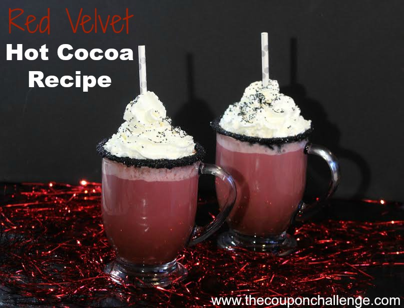 Red Velvet Hot Cocoa Recipe