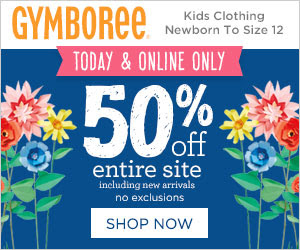 Gymboree 50% off