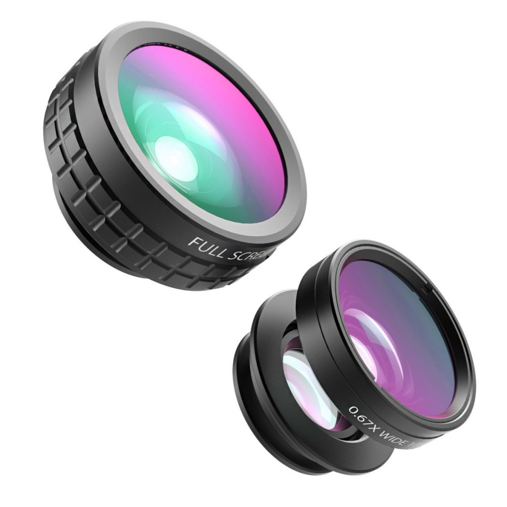 AUKEY 3 in 1 Clip-on Cell Phone Camera Lens Kit