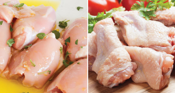 hicken Thighs & Chicken Wings on Sale