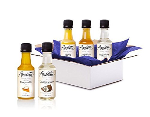 Amoretti Syrup Sample Box, 8 or more samples
