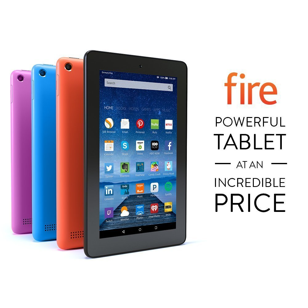 "Fire, 7"" Display, Wi-Fi, 8 GB"