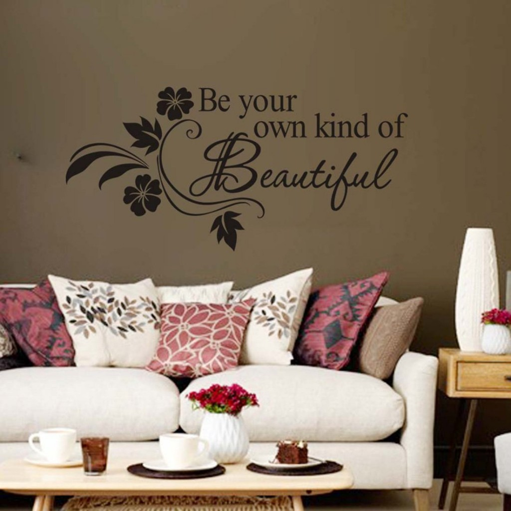 "Wall Sticker ""Be your own kind of Beautiful"""