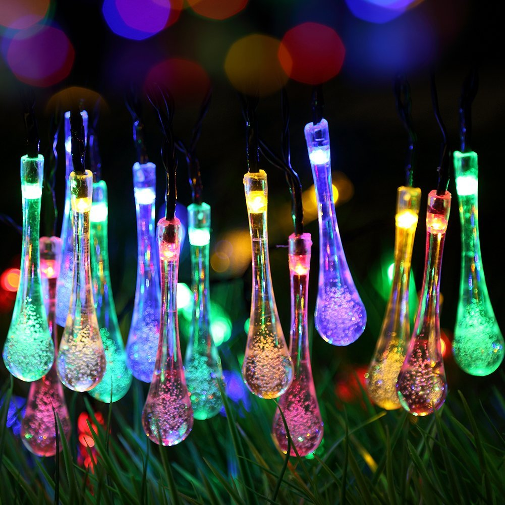 Amazon: Solar Outdoor String Lights $15.99