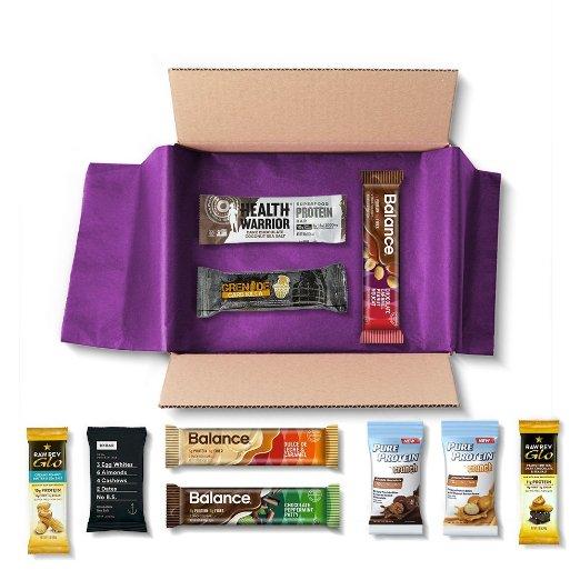 Protein Bar Sample Box