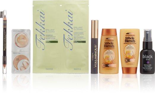 Women's Makeup & Hair Care Beauty Sample Box