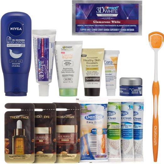 Women's Skin & Oral Care Beauty Sample Box