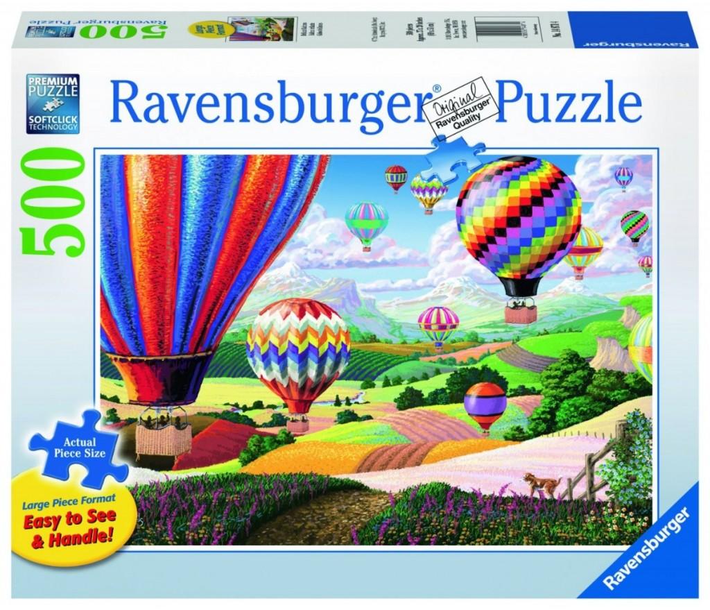 Ravensburger Brilliant Balloons Large Format Jigsaw Puzzle