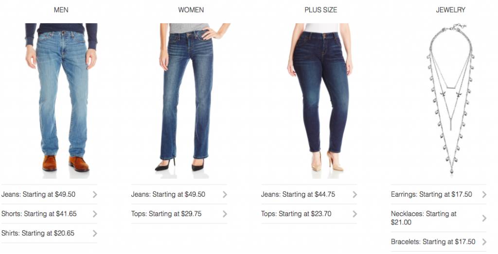 Up to 50% off Lucky Brand
