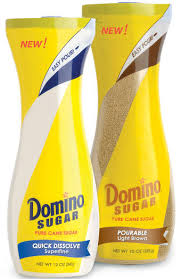 Domino Flip Top Sugar Canisters