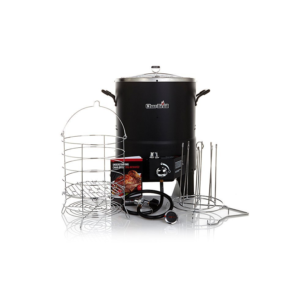 Char-Broil The Big Easy TRU-Infrared Oil-Less Turkey Fryer Bundle