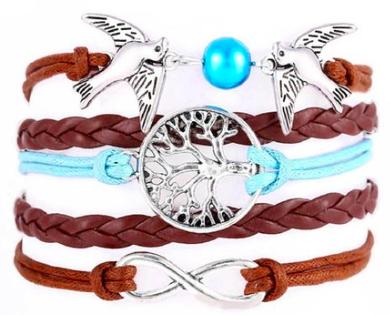 Multilayer Wristband Bracelet