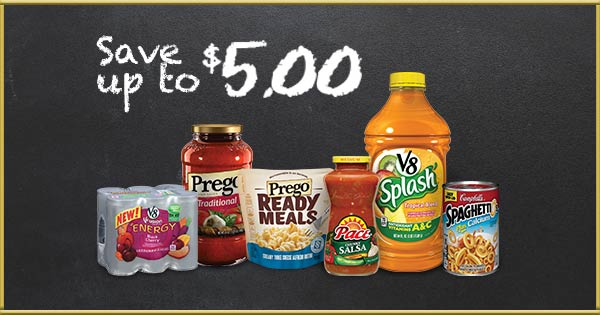 Campbell's coupons for back to school