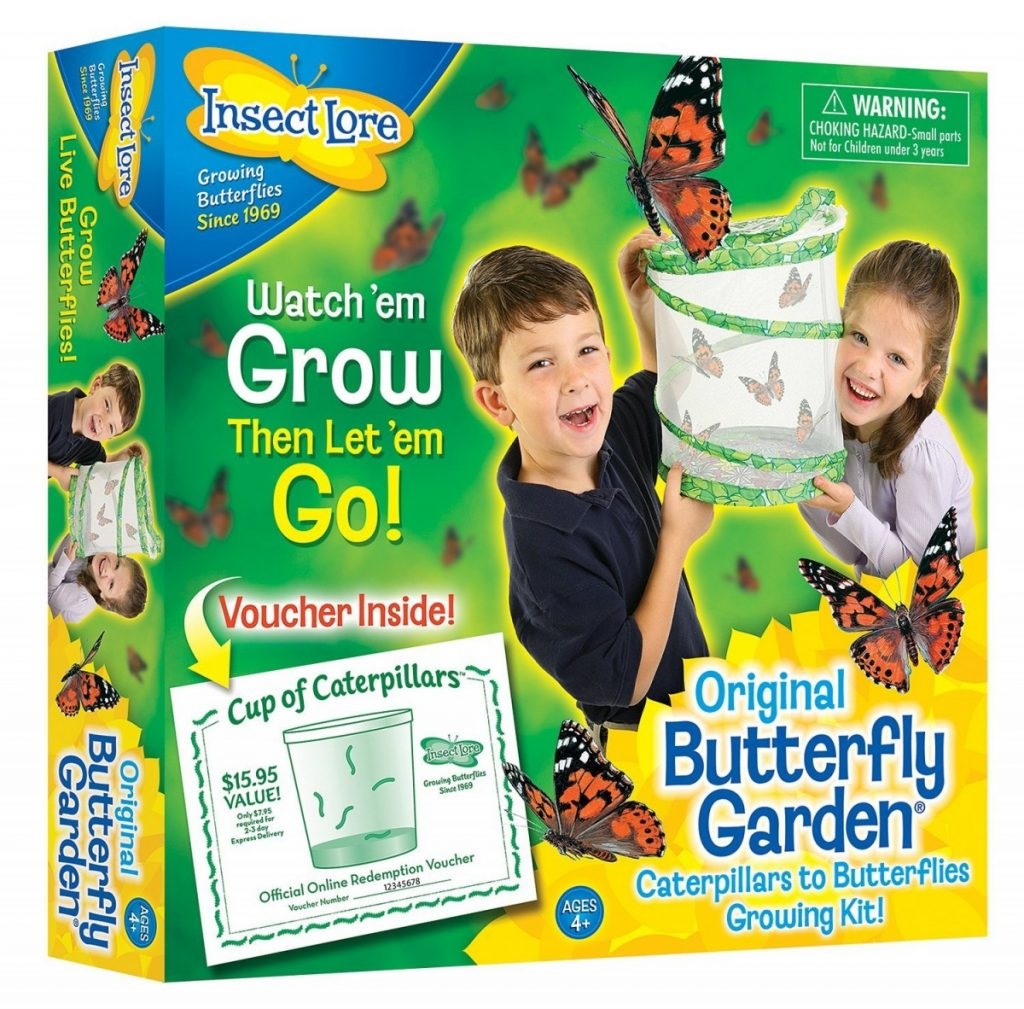Insect Lore Original Butterfly Garden with Voucher