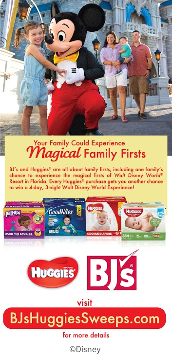 BJ's Wholesale and Huggies