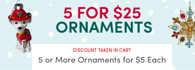 wayfarer ornament sale