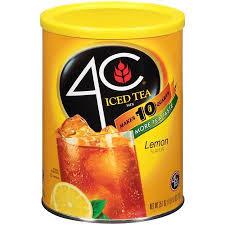 4C iced Tea