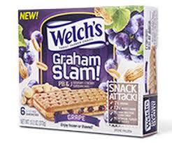 Welch's Graham Slam PB&J Sandwiches