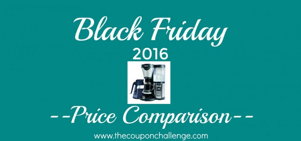 Ninja Coffee Maker Black Friday Deal : Ninja Coffee Bar Coffee Maker Best Black Friday Price 2016