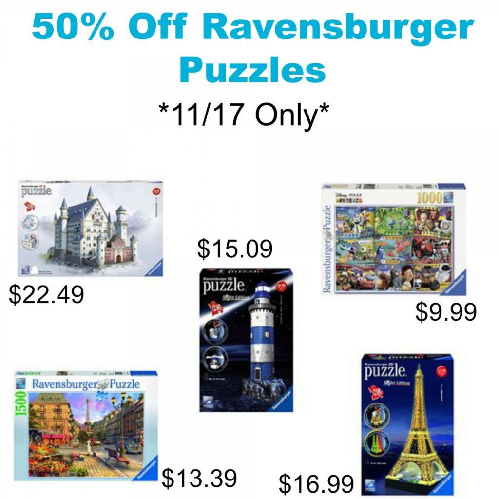 Ravensburger puzzles coupon code