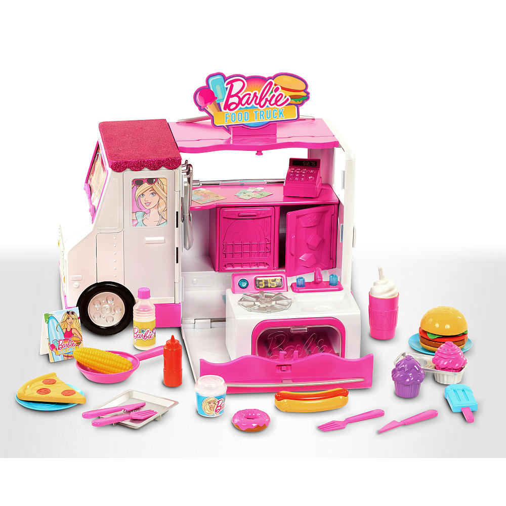 Barbie Chill and Grill Food Truck Playset