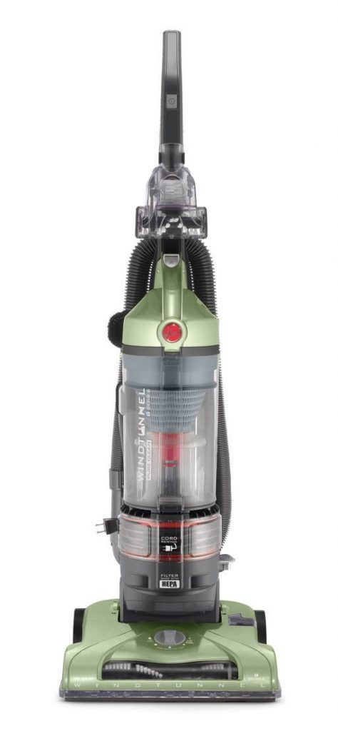 Hoover Vacuum Cleaner WindTunnel T-Series Rewind Plus Bagless Lightweight Corded Upright UH70120