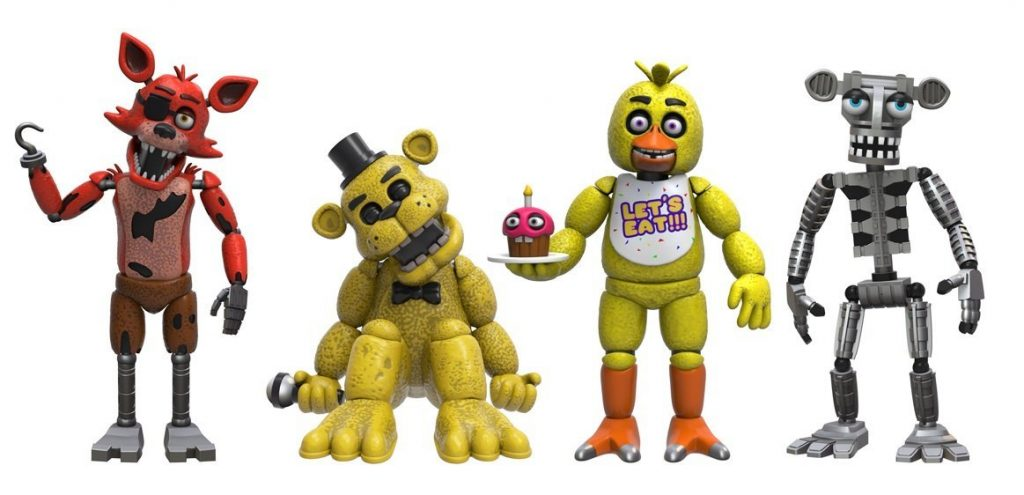 Funko Five Nights at Freddy's 4 Figure Pack