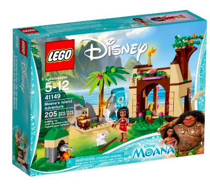 LEGO® Disney Princess Moana's Island Adventure 41149