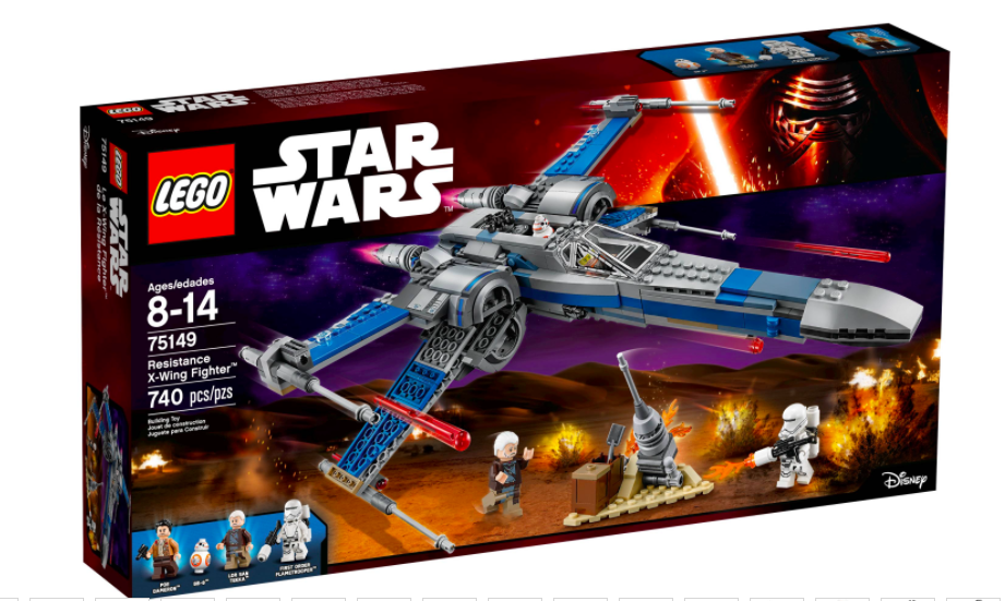 LEGO® Star Wars™ Resistance X-Wing Fighter™ 75149