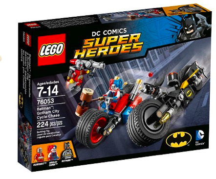 LEGO® Super Heroes Batman™: Gotham City Cycle Chase 76053