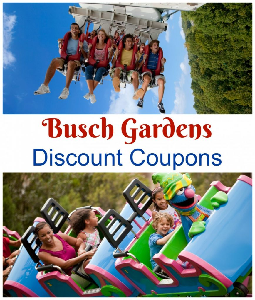 Busch Gardens Discount Coupons