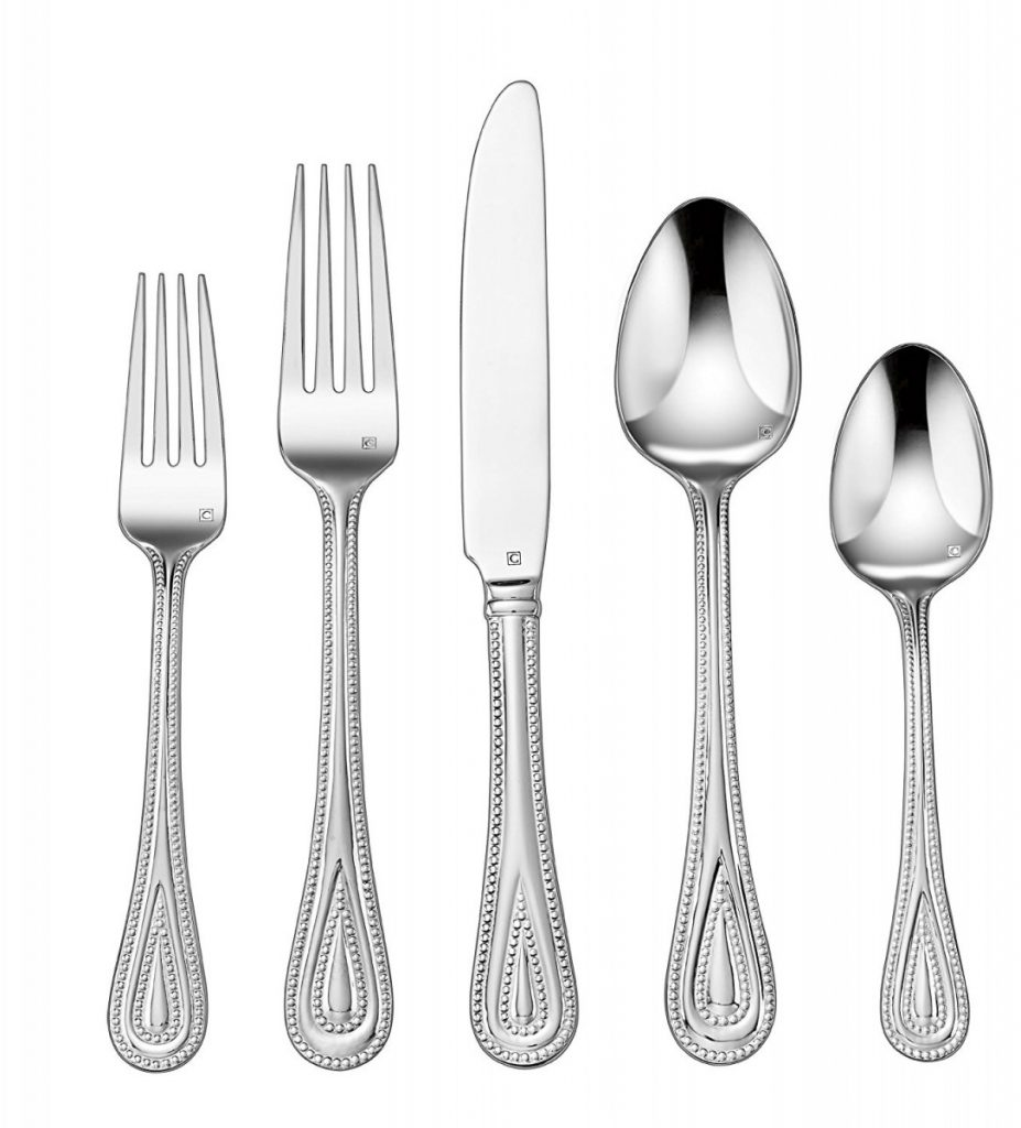 Amazon cuisinart 20 piece flatware set fampoux 22 99 the coupon