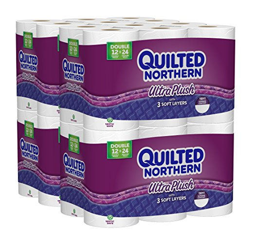 Amazon Quilted Northern Ultra Plush Double Rolls Toilet