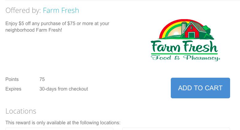 Printable coupons farm fresh