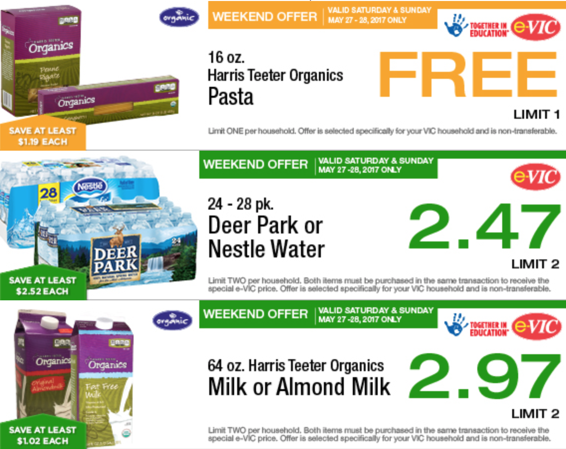 Harris Teeter E-VIC Deals Through May 30th - The Coupon Challenge