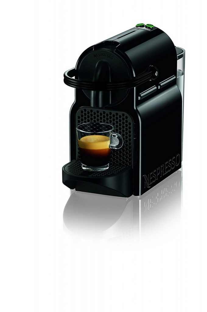 amazon nespresso inissia espresso machine by de 39 longhi. Black Bedroom Furniture Sets. Home Design Ideas