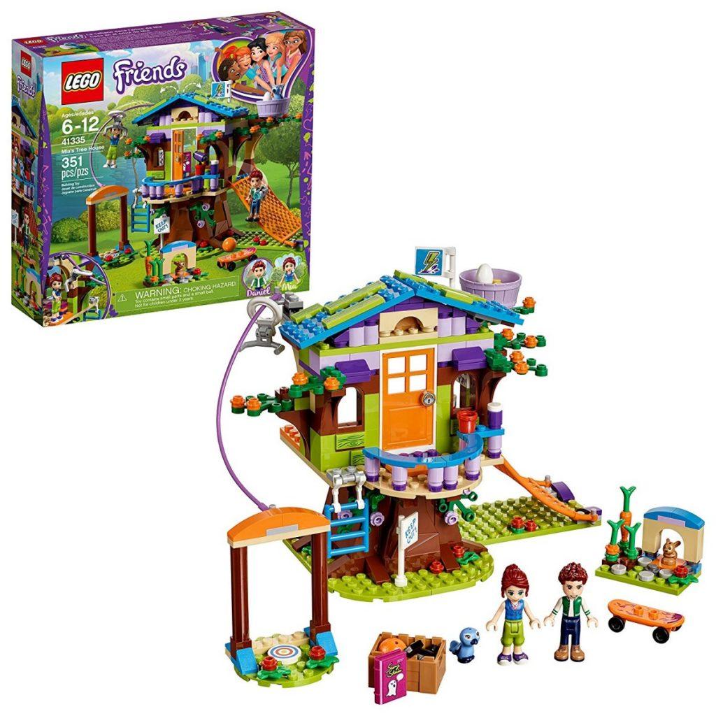 Amazon: LEGO Friends Mia's Tree House 41335 Building Kit ...