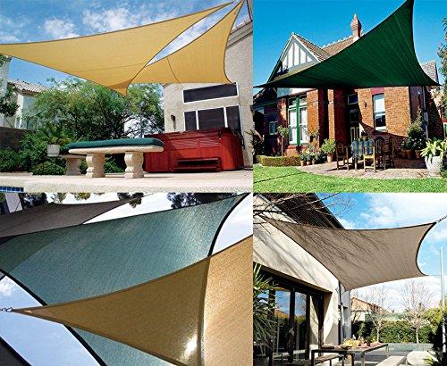Amazon California Sun Shade Coolaroo Shade Sail Kit Right Triangle